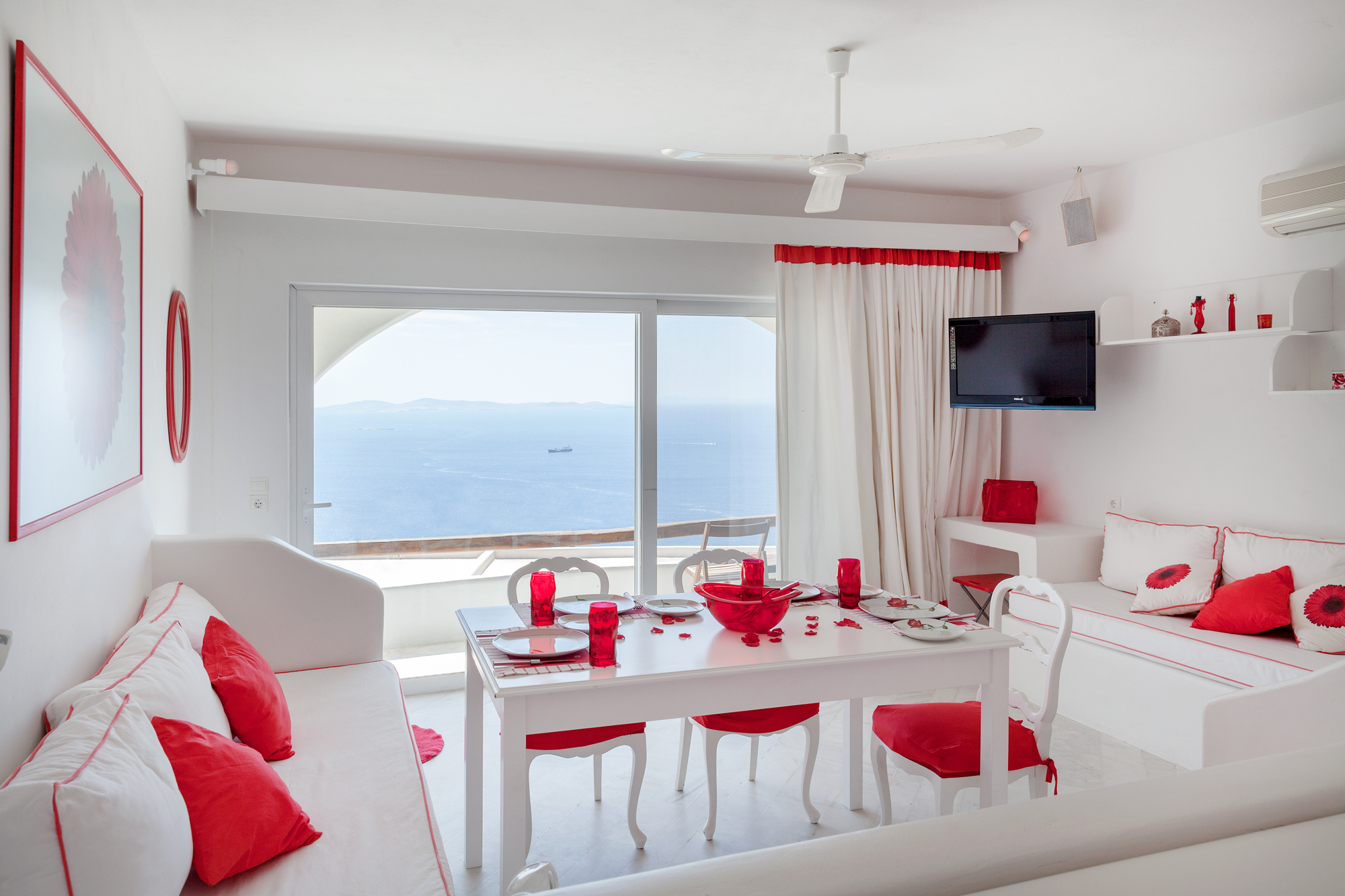 Moroccan Red Suite Mykonos