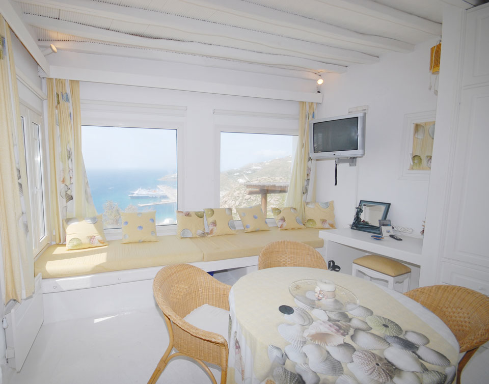 Ivory Shell Suite Mykonos